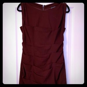 Express ruched dress